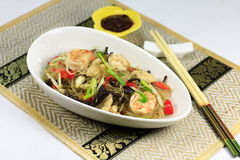 Seafood noodle Royalty Free Stock Photos