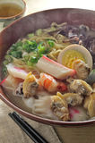 Seafood noodle Stock Photos