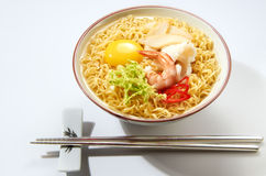 Seafood Noodle Soup Stock Photography