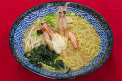 Seafood noodle Stock Photography