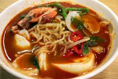 Seafood noodles Royalty Free Stock Photos