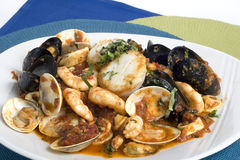 Seafood Opera Royalty Free Stock Photography