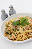 Seafood Pasta Royalty Free Stock Photo