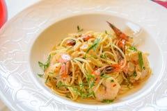 Free Seafood Pasta Stock Photo - 27188540