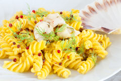 Seafood Pasta Stock Images