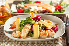 Seafood with Pasta Royalty Free Stock Photography