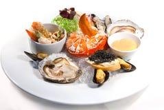 Free Seafood Plate Stock Image - 17235931