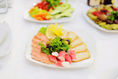 Seafood Plate Royalty Free Stock Photo
