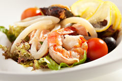 Seafood Plate Royalty Free Stock Image
