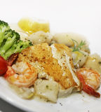 Seafood Plate Royalty Free Stock Photography