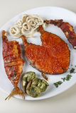 Seafood Platter from Goa, India Royalty Free Stock Image