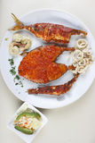 Seafood Platter from Goa, India Royalty Free Stock Photography