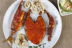 Seafood Platter from Goa, India Stock Photography