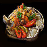 Seafood. Prepared Shellfish. Mediterranean. Stock Photography