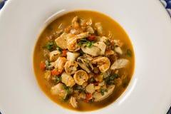 Seafood. Prepared Shellfish. Mediterranean. Seafood. Prepared Shellfish. Mediterranean gourmet food Royalty Free Stock Photo
