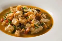 Seafood. Prepared Shellfish. Mediterranean. Seafood. Prepared Shellfish. Mediterranean gourmet food Royalty Free Stock Photography