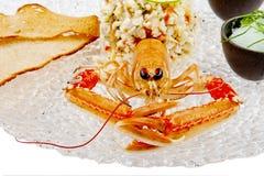 Seafood. Prepared Shellfish. Royalty Free Stock Images