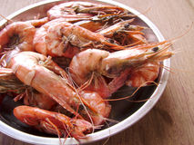 Seafood ready to serve Royalty Free Stock Photos