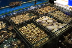 Seafood restaurant Stock Photo
