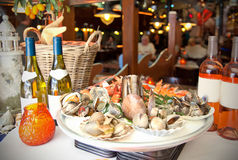 Seafood restaurant Stock Image