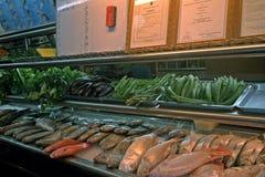 Seafood restaurant, Kuching, Borneo, Malaysia Stock Images