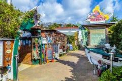 Seafood restaurants near the beach in Zempin Stock Photos