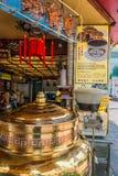 Seafood restaurants Temple street Kowloon Hong Kon Stock Photo