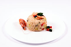 Seafood rice Royalty Free Stock Images