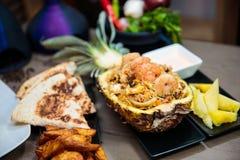 Seafood Rice Royalty Free Stock Photos