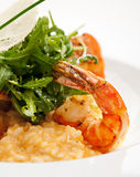 Seafood Risotto Royalty Free Stock Images