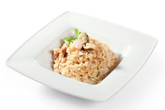 Seafood Risotto Royalty Free Stock Photography