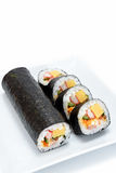 Seafood Rolled sushi Stock Photography