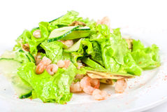 Seafood salad Royalty Free Stock Photo
