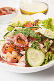 Seafood salad Stock Photo