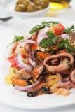 Seafood salad Stock Photos