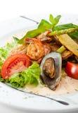 Seafood Salad Stock Photography