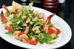 Seafood Salad Royalty Free Stock Image