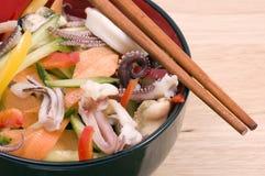 Seafood salad Royalty Free Stock Photos