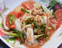Seafood Salad Mix Stock Photography