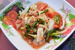 Seafood Salad Mix Royalty Free Stock Photos