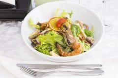 Seafood salad Royalty Free Stock Photography
