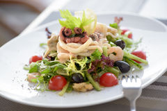 Seafood salad Royalty Free Stock Photos