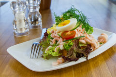 Seafood Salad Royalty Free Stock Photography
