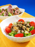 Seafood salads Royalty Free Stock Photography