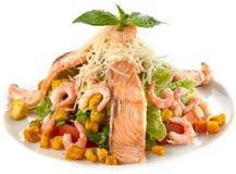 Seafood sald Stock Image
