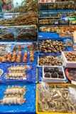 Seafood for sale at the Noryangjin Fish Market in Seoul Stock Image