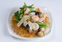 Seafood sampler Royalty Free Stock Photo