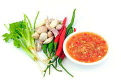 Seafood sauce Stock Photos