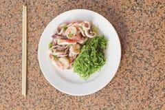 Seafood Seaweed Salad Stock Images