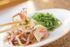 Seafood Seaweed Salad Royalty Free Stock Photos